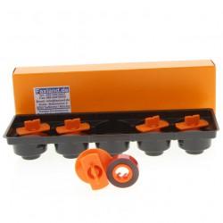 Korrekturband Lift-Off für Brother AX 100 - 5 Stück, Marke Faxland, kompatibel für  AX100