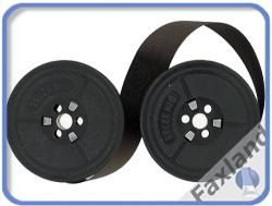 Farbband - schwarz- für  Toshiba 141, kompatibel Marke Faxland
