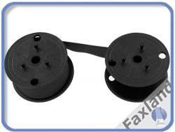 Farbband - schwarz- für  Olympia 5212, kompatibel Marke Faxland