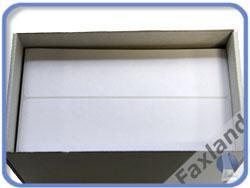 Frankieretikett  163 x 45 mm 1000 Stück (doppelt) Etiketten für Frankiermaschine  - 163x45