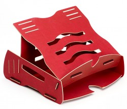 Laptop Ständer, Rot, Schreibtischzubehör, Earth Serie , Notebookständer Fellowes, 80149