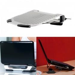 Laptop Netbook Ständer mit Kühler, Precision Notebook Halter, Fellowes Notebookständer, 80187
