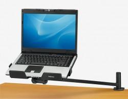 Laptop Arm, schwenkbar, Notebook Schreibtischhalter, Smart Suite Fellowes Notebookständer, 80348