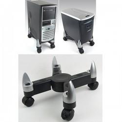pc st nder rollbar verstellbar rolluntersatz f r aktenvernichter papierkorb. Black Bedroom Furniture Sets. Home Design Ideas