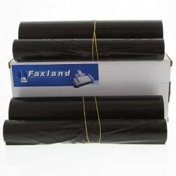 2 x Farbband für Brother FAX T 102, Druckfolie für T102 ,je158S.