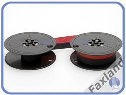 Farbband - schwarz-rot- für  Brother 650 TR, kompatibel Marke Faxland