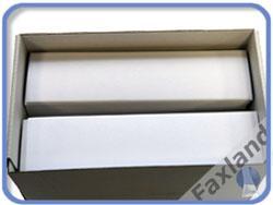 Frankieretiketten 168 x 44 mm (158x41)  1000 Stück (einzeln) Etiketten für Frankiermaschinen mit Anfaßlasche 168x44