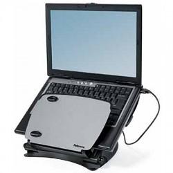 Profi Laptop Ständer Workstation mit 4x USB, Profi Notebook Halter, Professional Serie Fellowes Notebookständer, 80246