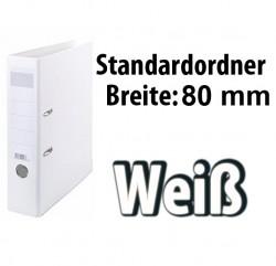 Weißer Ordner 80mm breiter, weisse Aktenordner 80mm,
