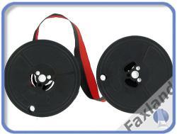 schwarz//rot Farbbandfabrik Original Farbband für DIN 2103-53mm Durchmesser