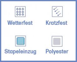 Faxland De Klebefolie 10 X Din A4 Transparent Matt Druckerfolie