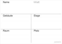 Faxland 20x Umzugetiketten Nr.3, 105x148 - A6, Beschriftung mit Etiketten vom Umzugskarton für den Umzug, Umzugsetiketten Eti-Umzug3-A6-weiss