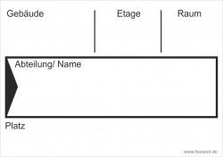 Faxland 40x Umzugetiketten Nr.4, 105x74, Beschriftung mit Etiketten vom Umzugskarton für den Umzug, Umzugsetiketten Eti-Umzug4-A7-weiss