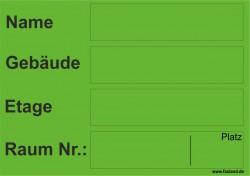 Faxland 40x Umzugetiketten Nr.5, 105x74, Beschriftung mit Etiketten vom Umzugskarton für den Umzug, Umzugsetiketten Eti-Umzug5-A7-gruen