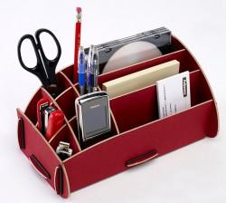 Schreibtisch Butler, Organizer für Stifte, Kleinkram Rot, Schreibtischzubehör, Earth Serie , Stiftehalter,Stiftablage Fellowes, 80126 Fel_STEart11_8012601