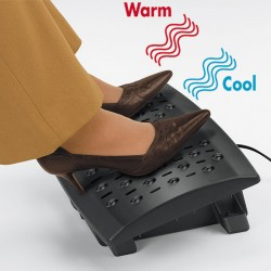 Faxland Klima Fußstütze -Wärmend, Kühlend, Temperaturkontrolle, heizend bei kalten Füßen, Professional Serie Fel_Fu1_8070901