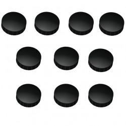 10x magnete schwarz 38 mm haftmagnete magnete f r magnettafel boards magnet. Black Bedroom Furniture Sets. Home Design Ideas