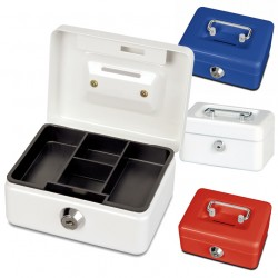 Kleine Faxland Geldkassette in 3 Farben, Münzeinwurf, Kaffekasse, Spardose, Trinkgeld, 12,5x9,5x6 cm Gkas0Vater