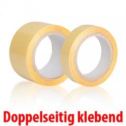 Faxland Doppelseitiges Klebeband, 5m x 15mm, Klebefilm Doppelseitig klebend, 15mmx5m, 2 seitig Kor11_K55515