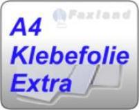 Faxland Klebefolie weiss, Extra Wasserfest/ Wetterfest u. Beständig, 240 Etiketten 97 x 42,3, für S/W Kopierer Zwe_274