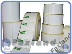 Faxland Thermotransferetikett 100 x 50 mm 1000 Stück Etiketten für Thermotransferdrucker - 100x50 eti_thermotransf_10050_100-x-50-mm